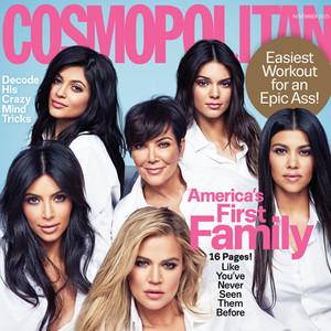 The Kardashians, Cosmopolitan Magazine,  EMBARGO until 10/04/15 at 9:15PM ET.