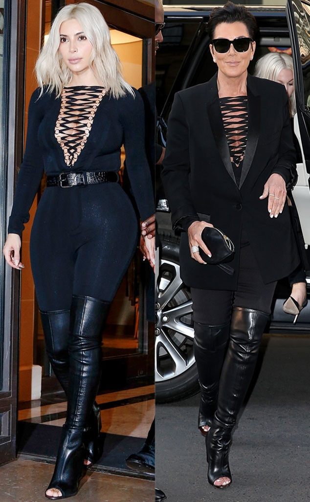 Drop It Drop It Low Girls From Kris Jenner 39 S Copycat