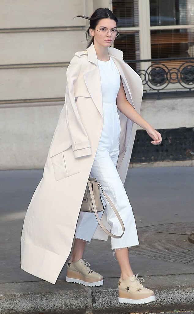 Kendall Jenner From Stars At Paris Fashion Week Spring