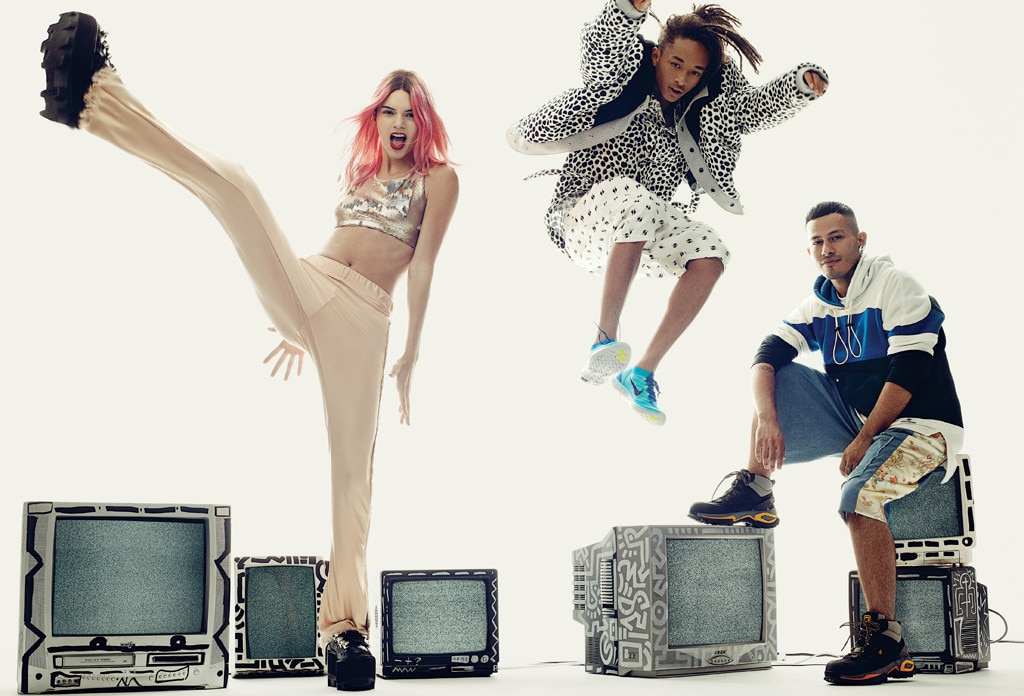 Kendall Jenner Rocks Pink Hair In Vogue Spread Featuring