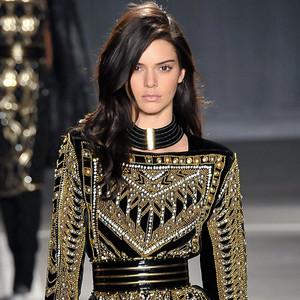 Kendall Jenner, Balmain Runway
