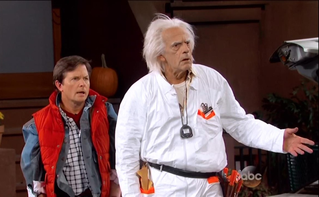 Back to the Future, Michael J. Fox, Christopher Lloyd, Jimmy Kimmel Live