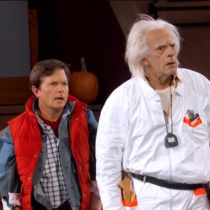 Back to the Future, Michael J. Fox, Christopher Lloyd, Jimmy Kimmel Live