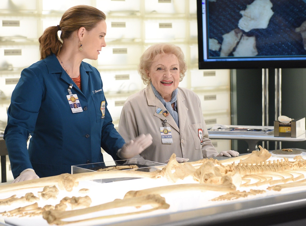 Bones, Betty White