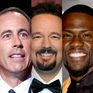 Jerry Seinfeld, Kevin Hart, Terry Fator
