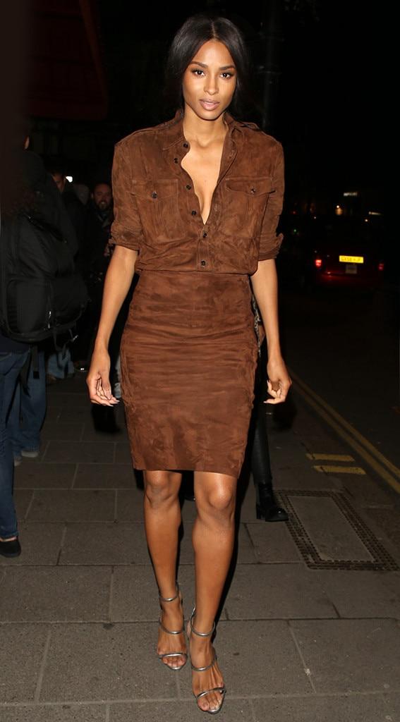 Bronzing From Ciara 39 S Street Style E News