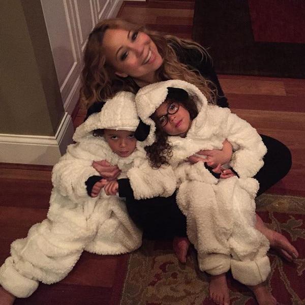 Mariah Carey Dresses Dem Babies as Lambs and They Are Less ... Mariah Carey Instagram