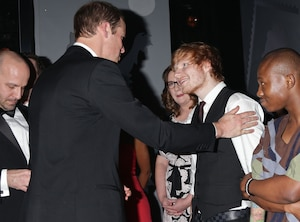 Prince William, Ed Sheeran