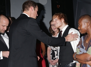 Prince William, Ed Sheeran
