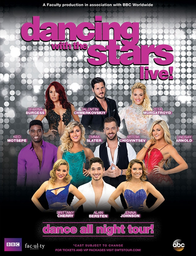 Dancing With The Stars Is Hitting The Road Find Out Which