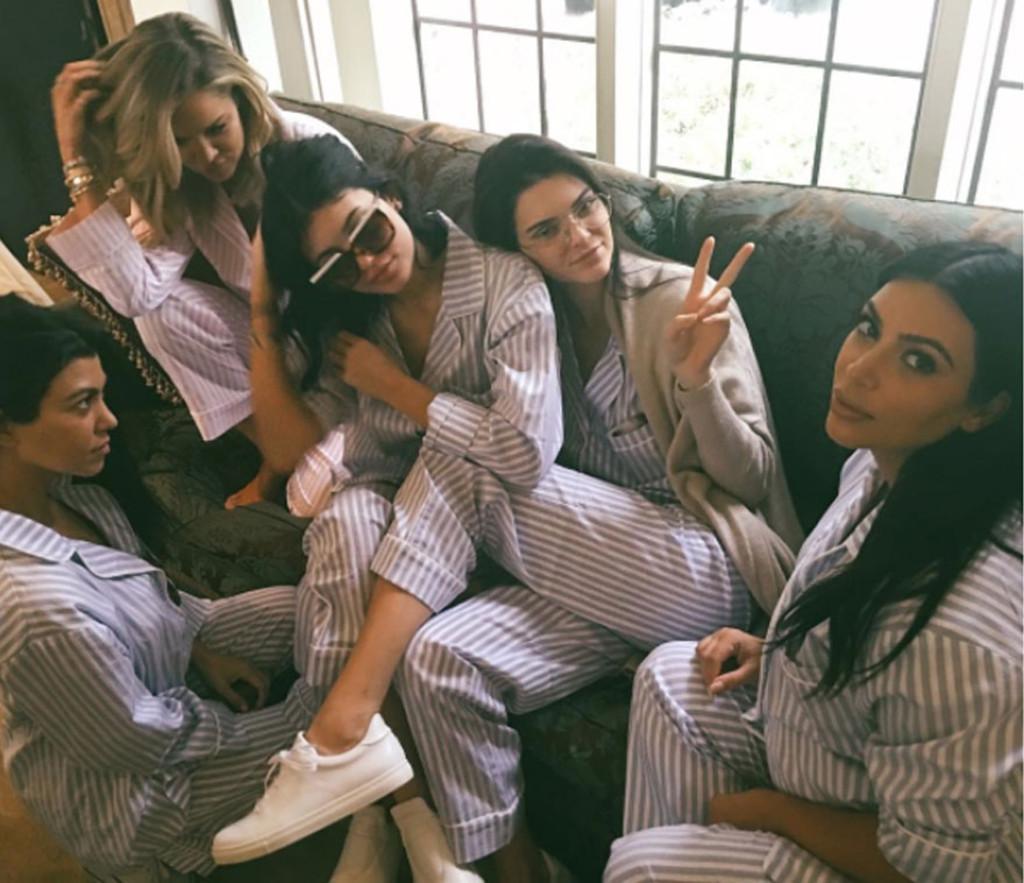 Kourtney Kardashian, Kylie Jenner, Instagram