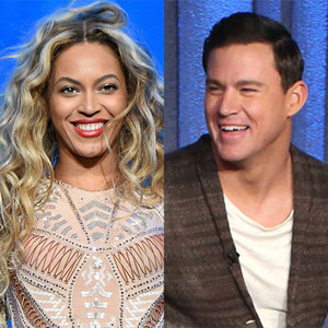 Beyonce, Channing Tatum