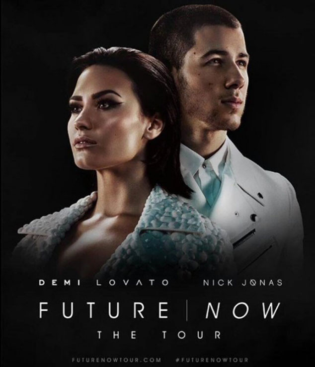 Demi Lovato, Nick Jonas, Future Now