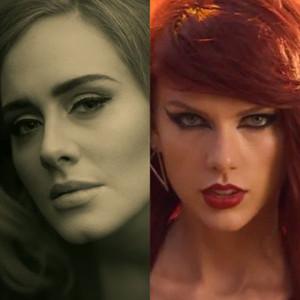 Adele, Hello, Taylor Swift, Bad Blood