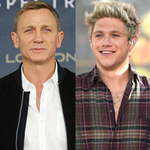 Daniel Craig, Niall Horan