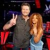 The Voice, Rihanna, Blake Shelton