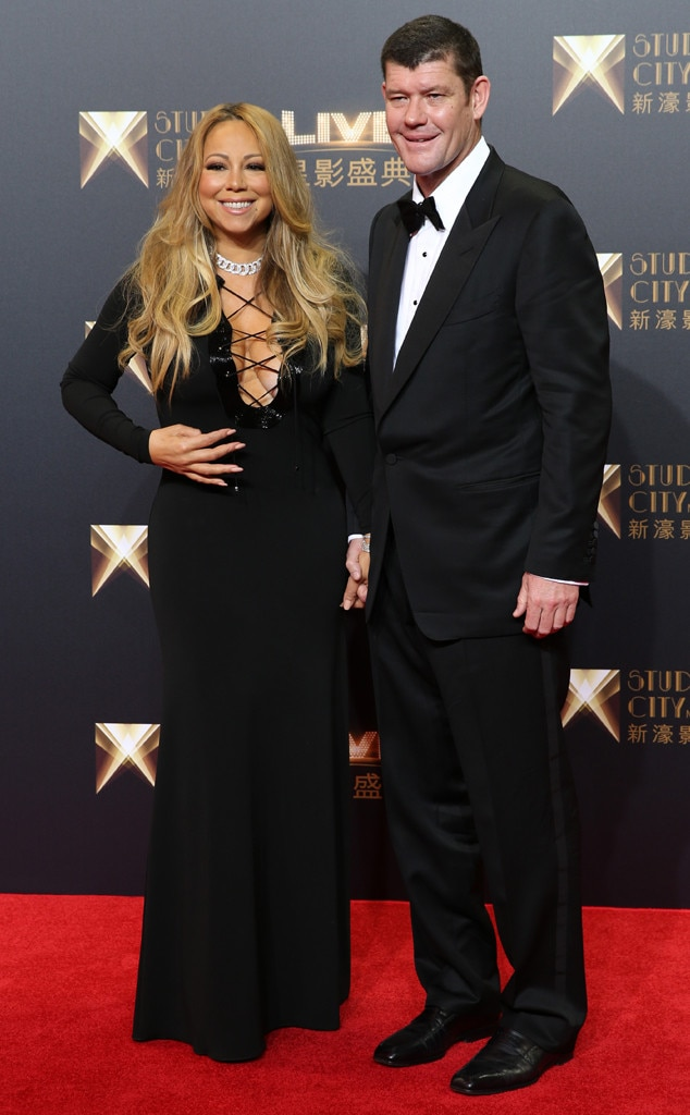 James Packer, Mariah Carey
