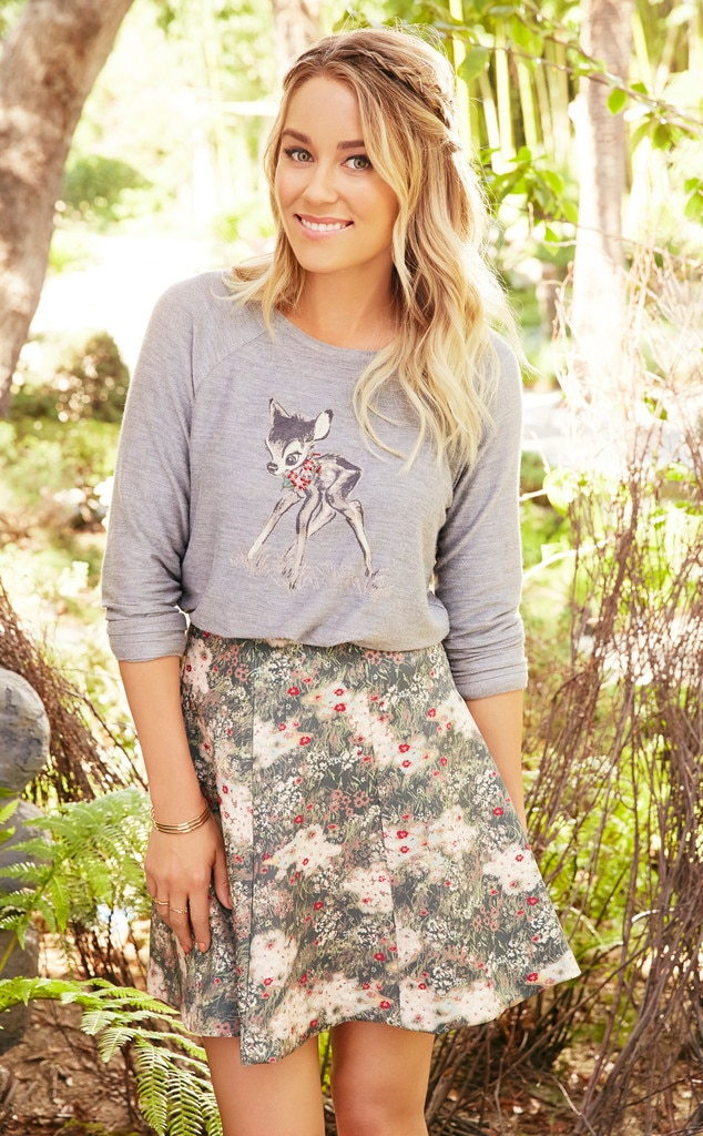 Lauren Conrad Unveils New Polka Dot Themed Disney