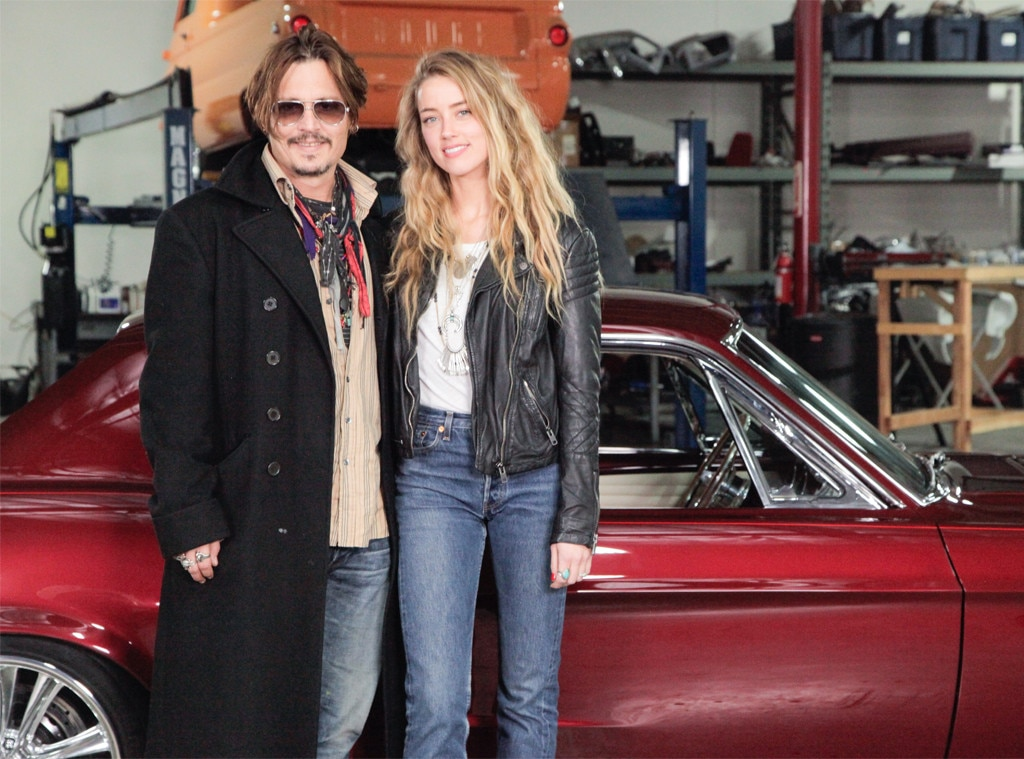 Amber Heard, Johnny Depp, Overhaulin'