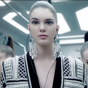 Kendall Jenner, H&M, Balmain