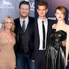 Blake Shelton, Miranda Lambert, Emma Stone, Miranda Lambert