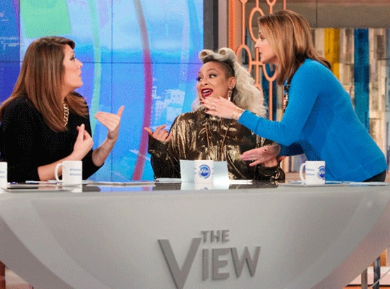 Michelle Collins, Raven-Symone, Paula Faris, The View
