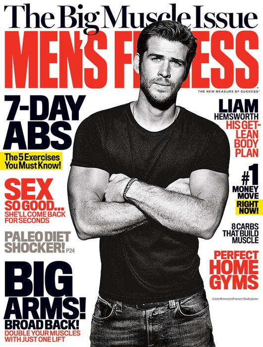 Liam Hemsworth, Men's Fitness