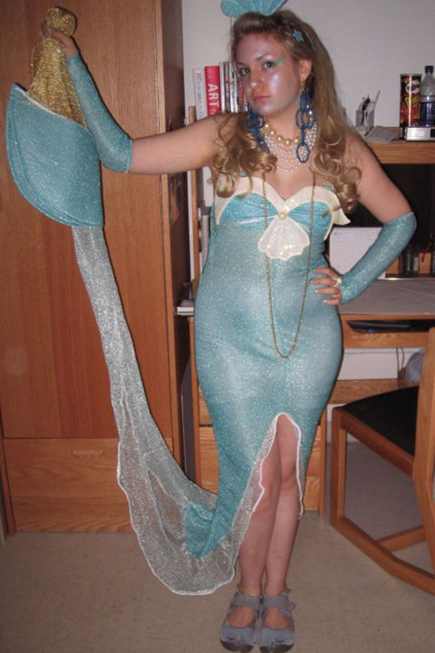 sexy legs amateur in halloween costume