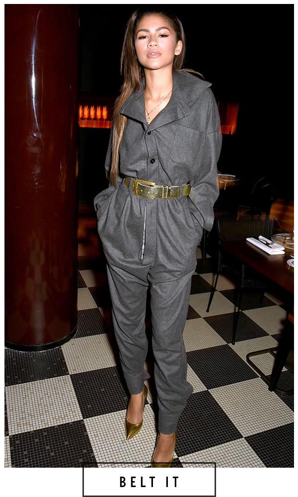 ESC, 5 Days 5 Ways Grey Outfit Zendaya Coleman