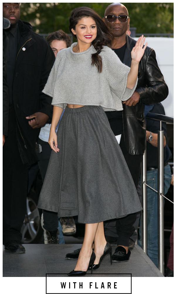 ESC, 5 Days 5 Ways Grey Outfit  Selena Gomez