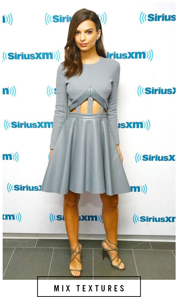 ESC, 5 Days 5 Ways Grey Outfit  Emily Ratajkowski, Grey