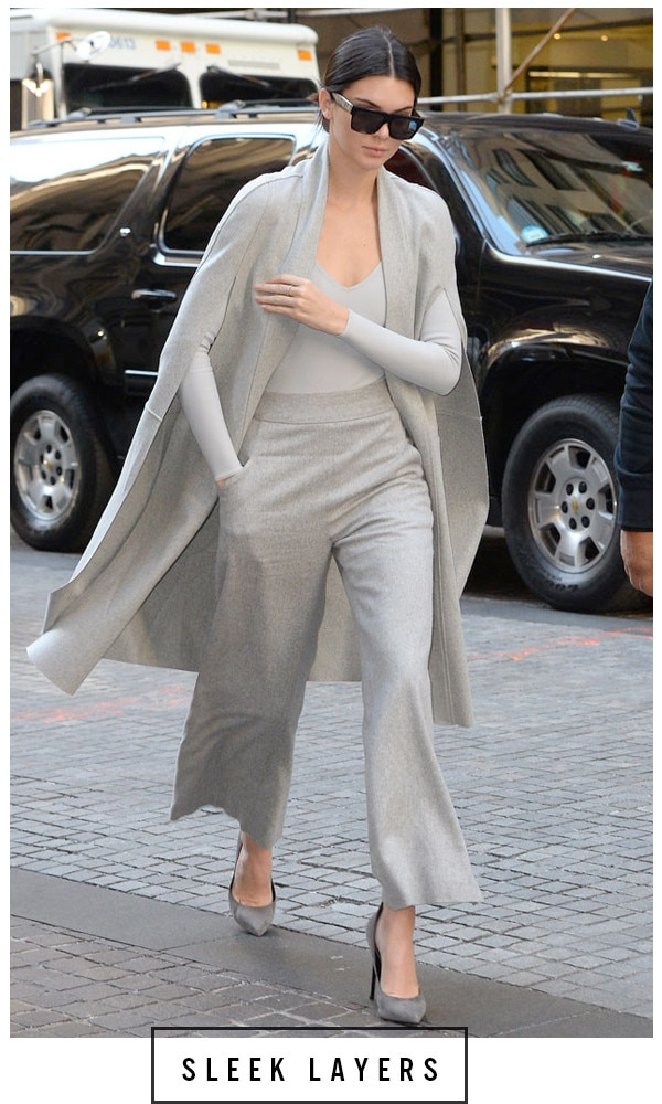 ESC, 5 Days 5 Ways Grey Outfit  Kendall Jenner, Grey