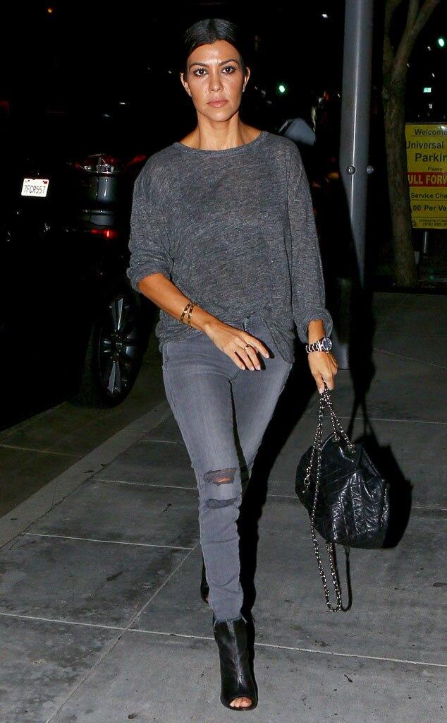 Night Out From Kourtney Kardashian 39 S Mommy Style