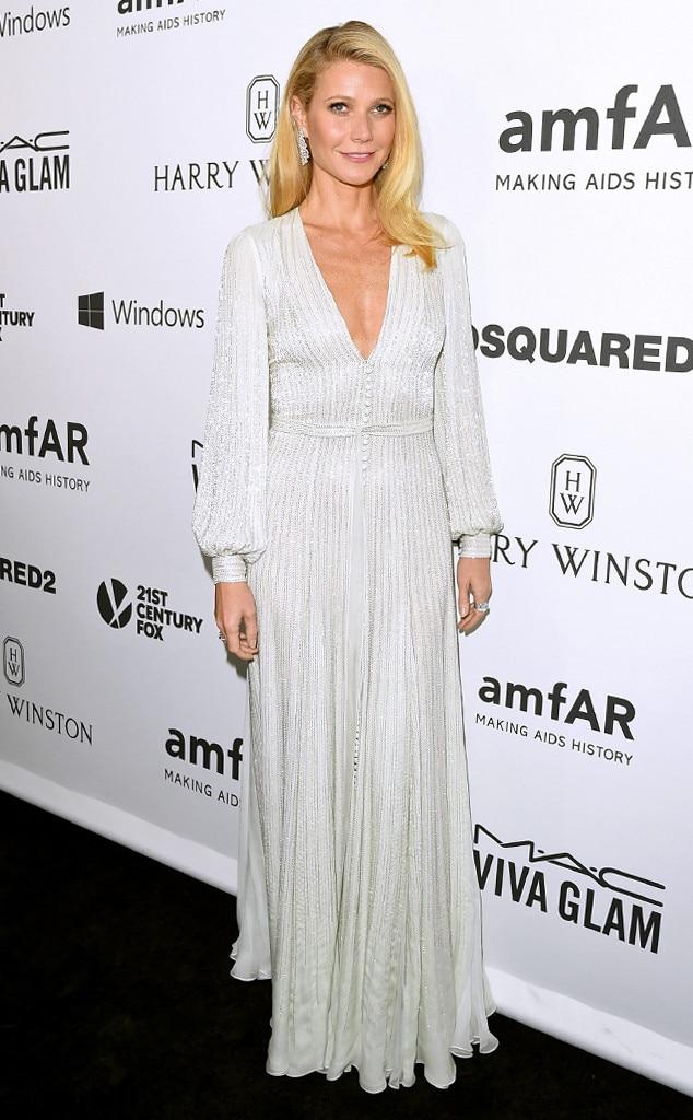 Gwyneth Paltrow, amfAR Inspiration Gala