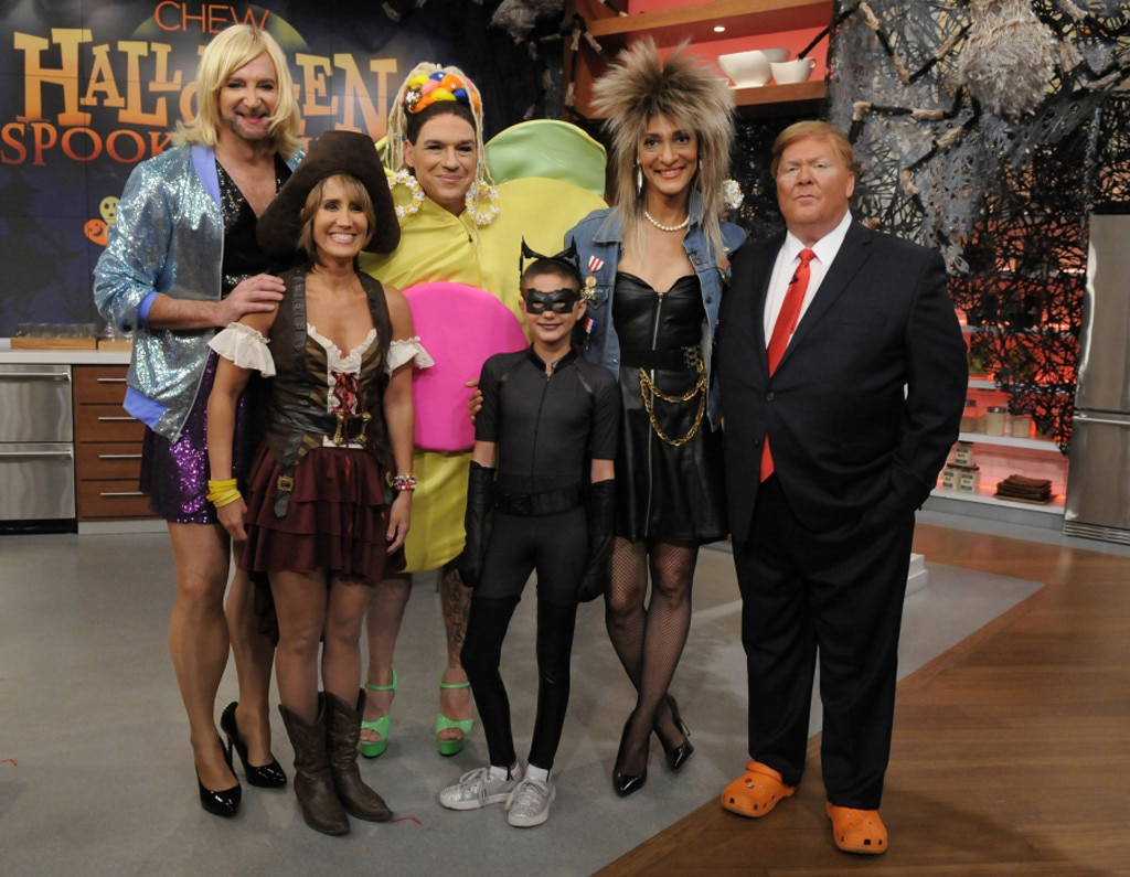 The Chew Cast official ranking of tv hosts' halloween 2015 costumes | e! news