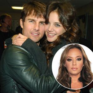 Tom Cruise, Katie Holmes, Leah Remini