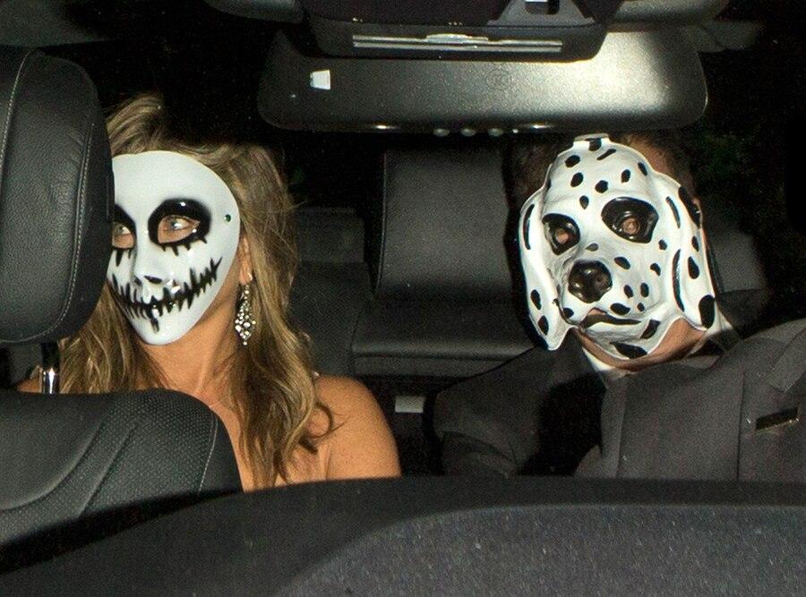 Jennifer Aniston, Justin Theroux, Halloween
