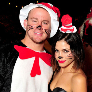 CasAmigos Tequila Halloween Party, Jenna Dewan, Channing Tatum