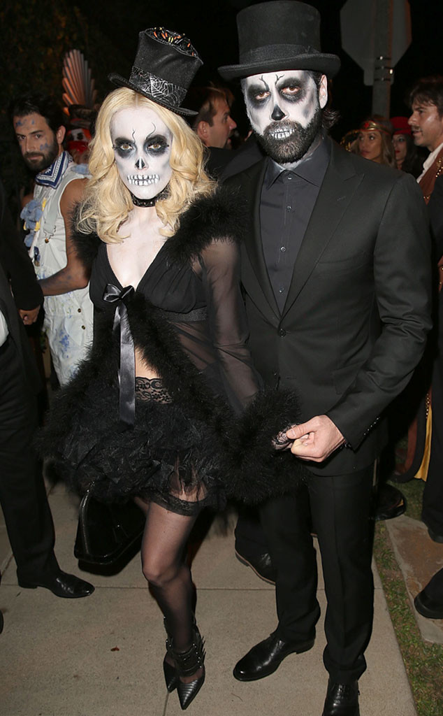 CasAmigos Tequila Halloween Party, Peta Murgatroyd, Maksim Chmerkovskiy