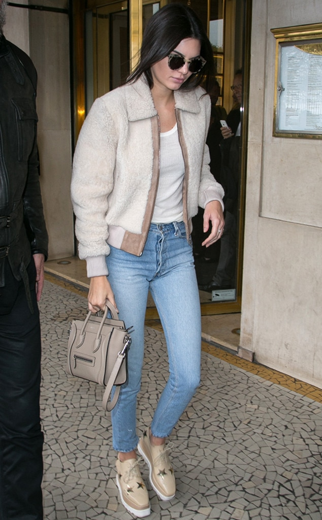 Cozy Chic From Kendall Jenner 39 S Street Style E News