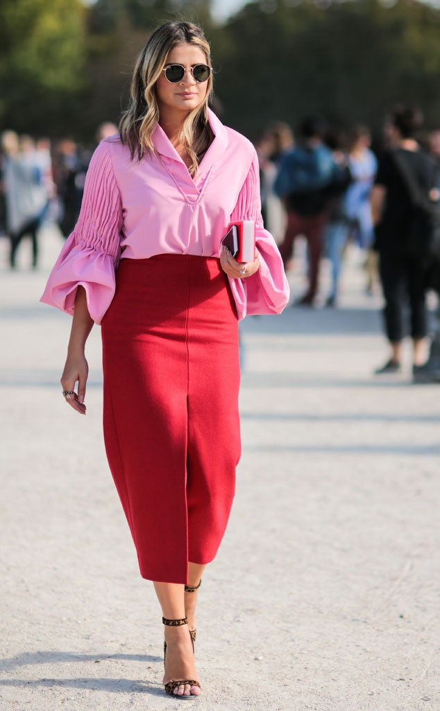 Thassia Naves From Street Style At Paris Fashion Week