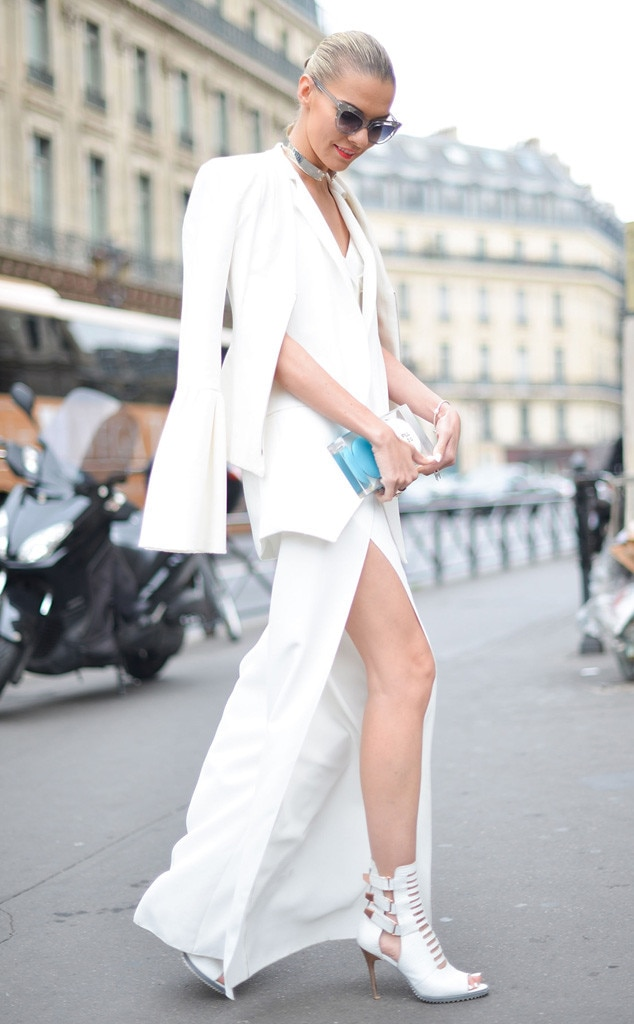 Dasha Gold From Street Style At Paris Fashion Week Spring 2016 E News