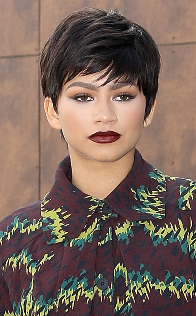 Chicly Cropped From Zendaya S Hair Evolution E News