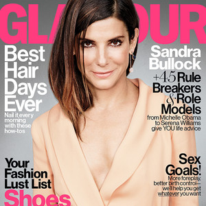 Sandra Bullock, Glamour Magazine
