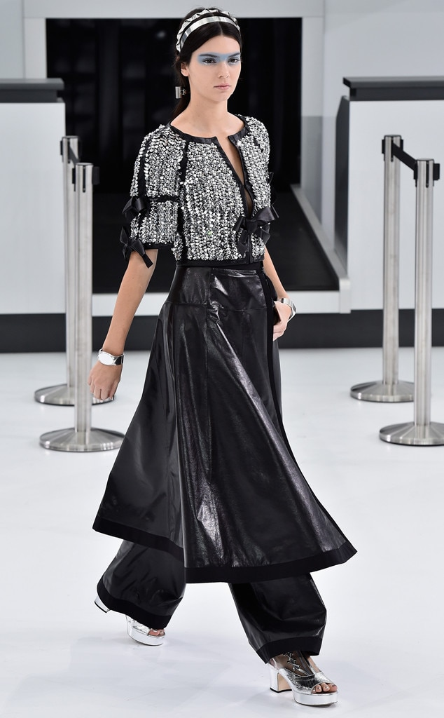 Chanel spring 2016 from kendall jenner 39 s runway shows e for Runway fashion show video