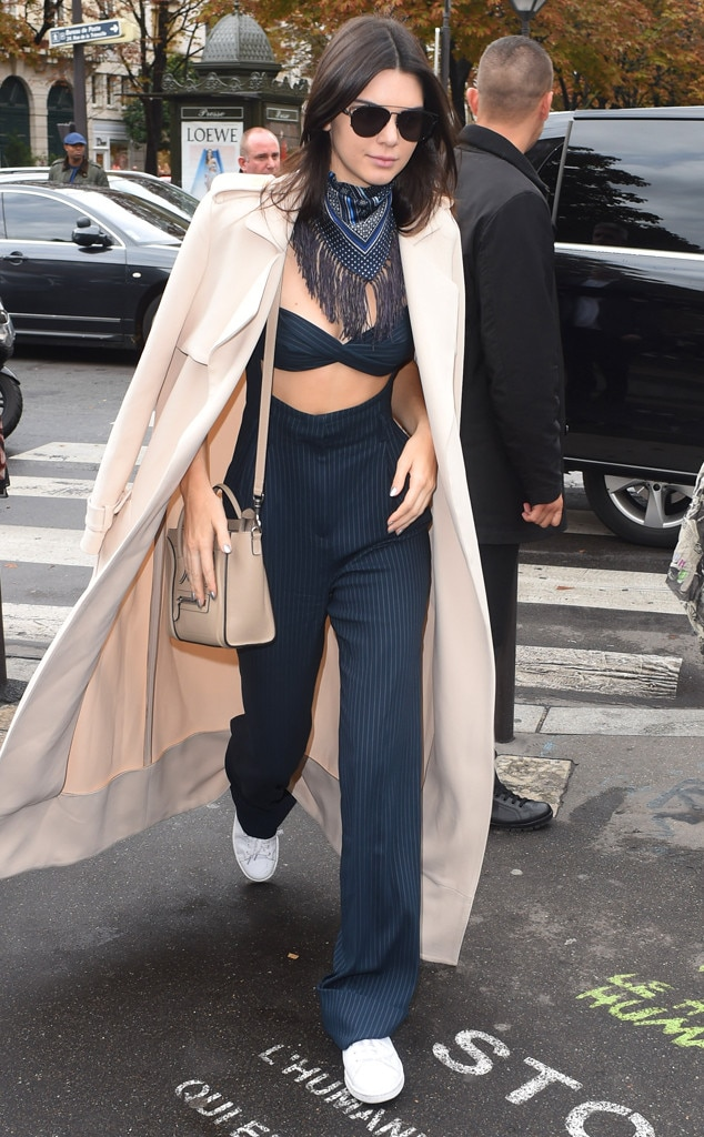Kendall Jenner Is Absolutely Killing It At Paris Fashion Week See All Her Fabulous Looks On