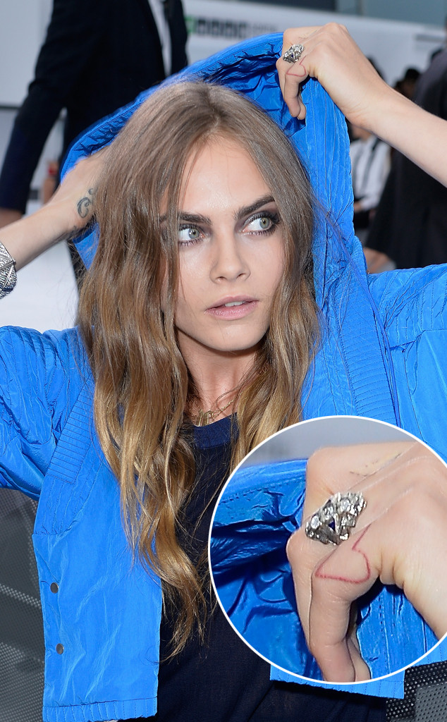 Is Cara Delevingne Engaged to St. Vincent? Actress Wearing ...