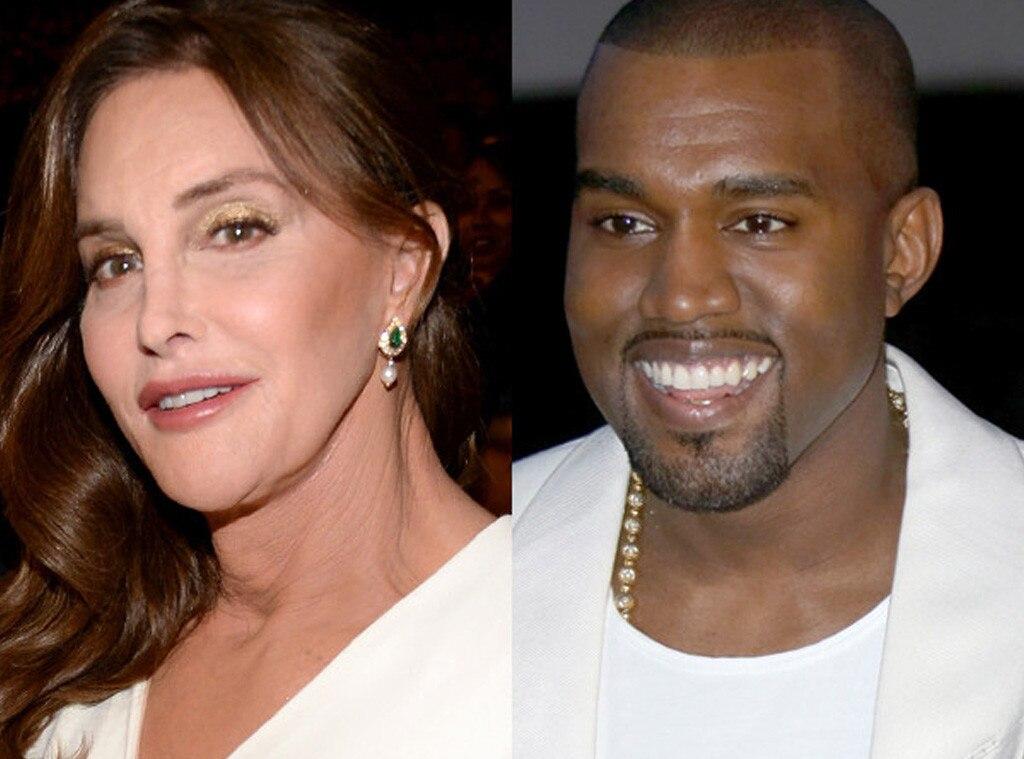 Caitlyn Jenner Plays Surrogate Mom To Struggling Kanye West
