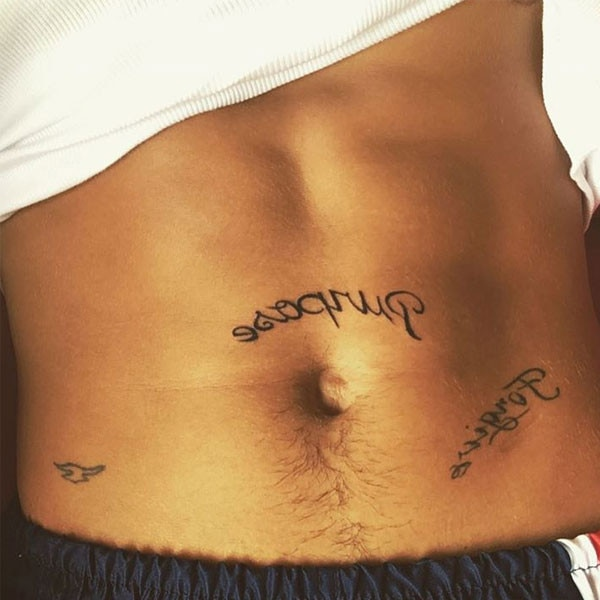 Justin bieber gets a new tattoo in honor of his upcoming for Justin bieber new tattoo