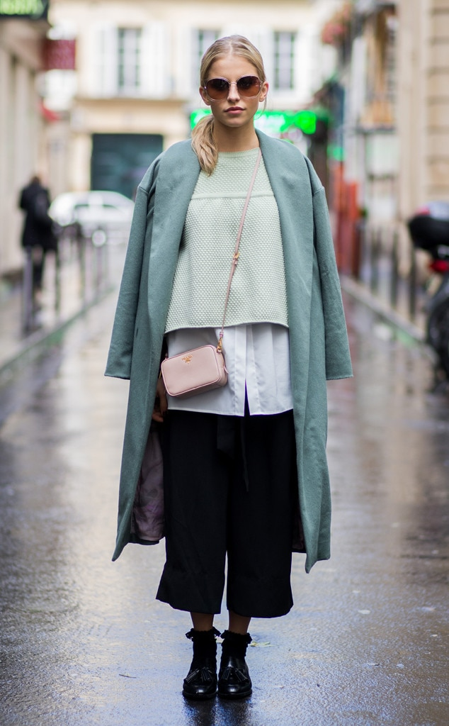 Caroline Daur From Street Style At Paris Fashion Week